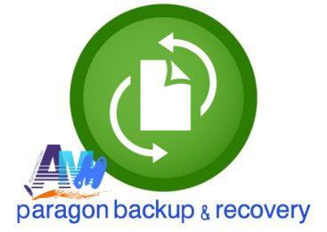 برنامج النسخ الاحتياطي الكامل Paragon Backup & Recovery
