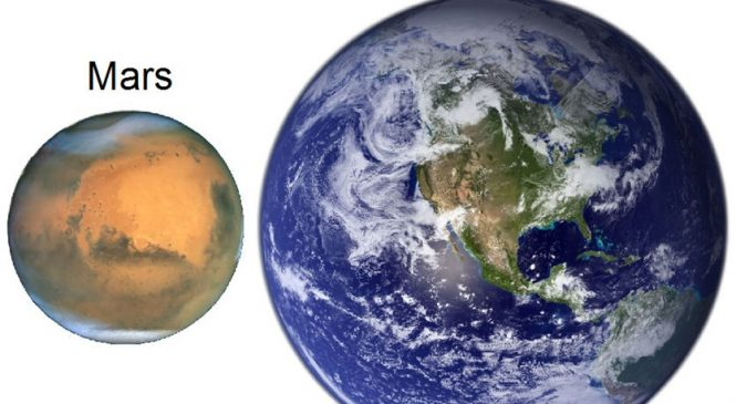 اقتراب المريخ من الأرض 2018